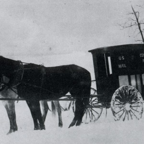 Wildwood Historical Society - Postal Wagon - Postal Wagon, Centaur
