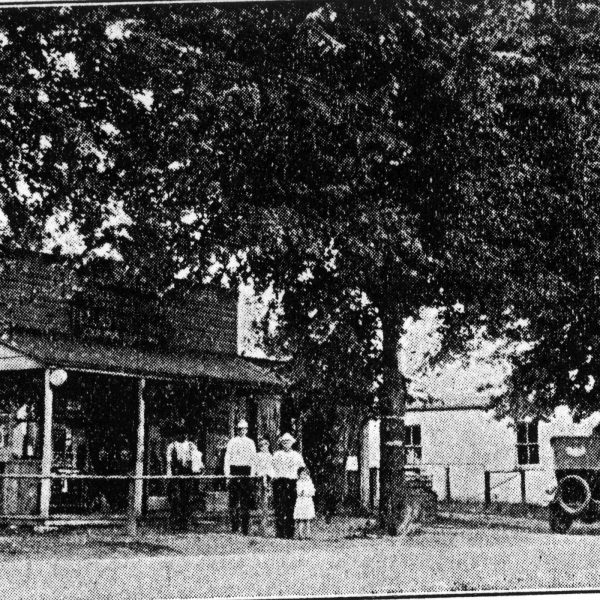 Wildwood Historical Society - Wetzel Store - Wetzel Store in Pond, 1915