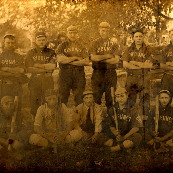 Wildwood Historical Society - Orrville Baseball Team - Orrville baseball team - 1915