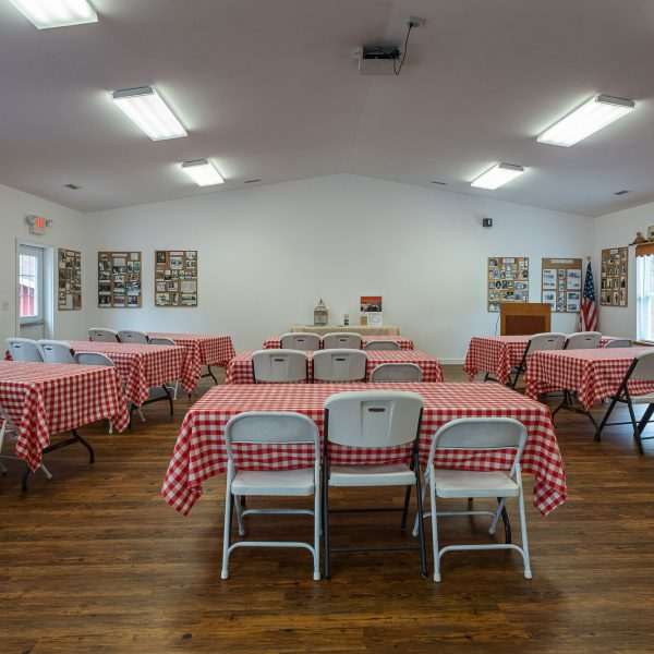 Wildwood Historical Society - The Chicken Coop Meeting Hall - photo: Janis Shetley