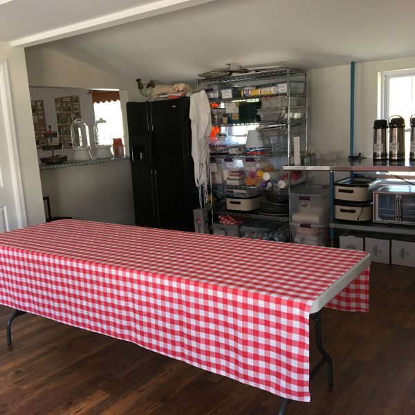 Wildwood Historical Society - The Chicken Coop Meeting Hall Kitchen -